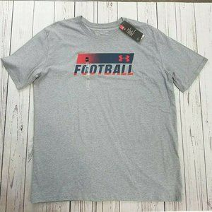 Under Armour Men's Football Fade T-Shirt  XL